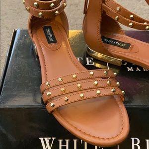 Whbm brown sandals
